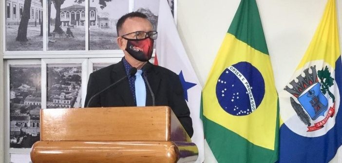 Pronunciamento do Vereador Paulo Gasolina na sessão ordinária desta quarta-feira (01/07)