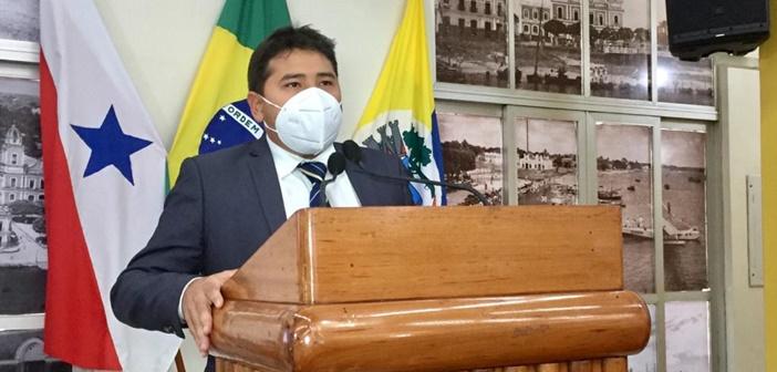 Vereador vai a Belém em busca de benefícios na Educação e na Saúde; reivindicados Ensino Médio na região da Curuá-Una e Policlínica para o município