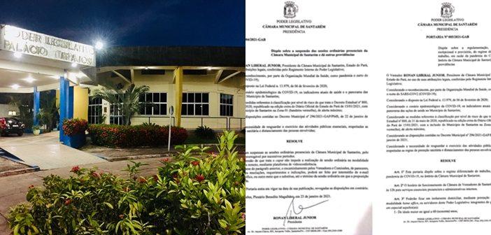 Em respeito à situação de alerta e aos decretos estadual e municipal, Câmara voltará a realizar sessões remotas e adotará regime especial de expediente