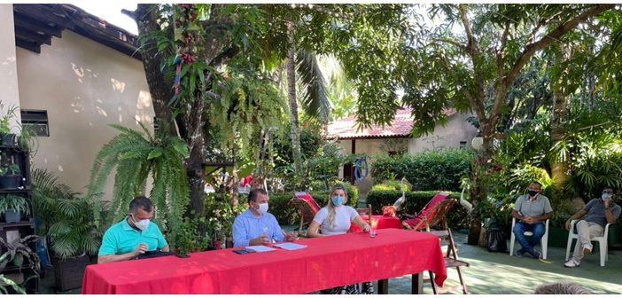 Vereadora Adriana Almeida reúne com lideranças de Alter do Chão e Secretaria de Turismo