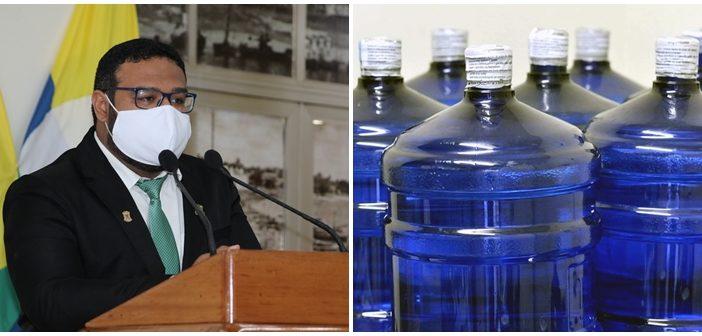 Vereador critica aumento de preço da água mineral no Pará
