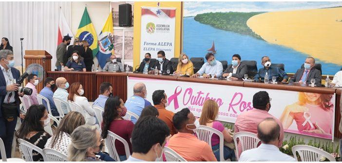ALEPA realiza na Câmara Municipal de Santarém a capacitação de servidores e parlamentares municipais